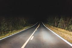 Night Driving on the Gunflint Trail