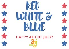 We hope you have a great 4th of July! #RedWhiteAndBlue