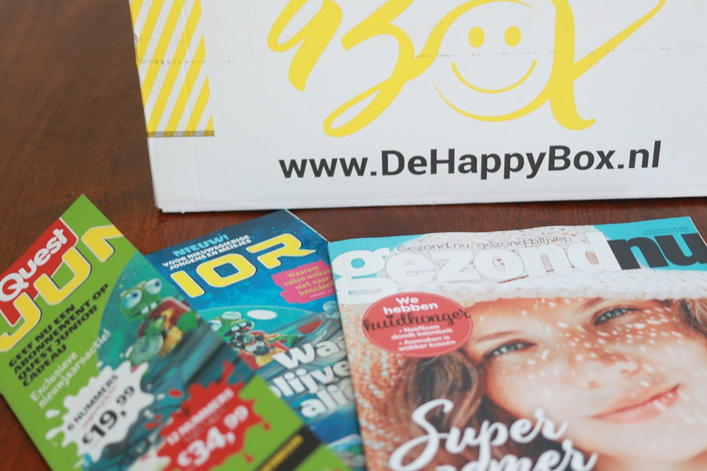 de Happy Holiday Box