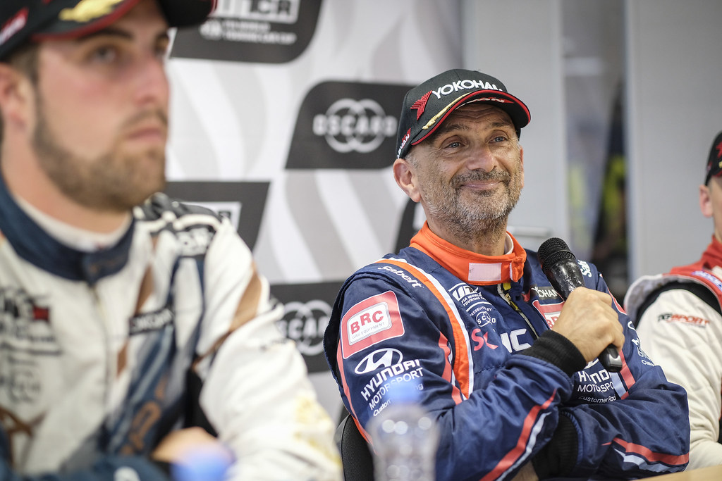 TARQUINI Gabriele, (ita), Hyundai i30 N TCR team BRC Racing, portrait during the 2018 FIA WTCR World Touring Car cup race of Slovakia at Slovakia Ring, from july 13 to 15 - Photo François Flamand / DPPI.