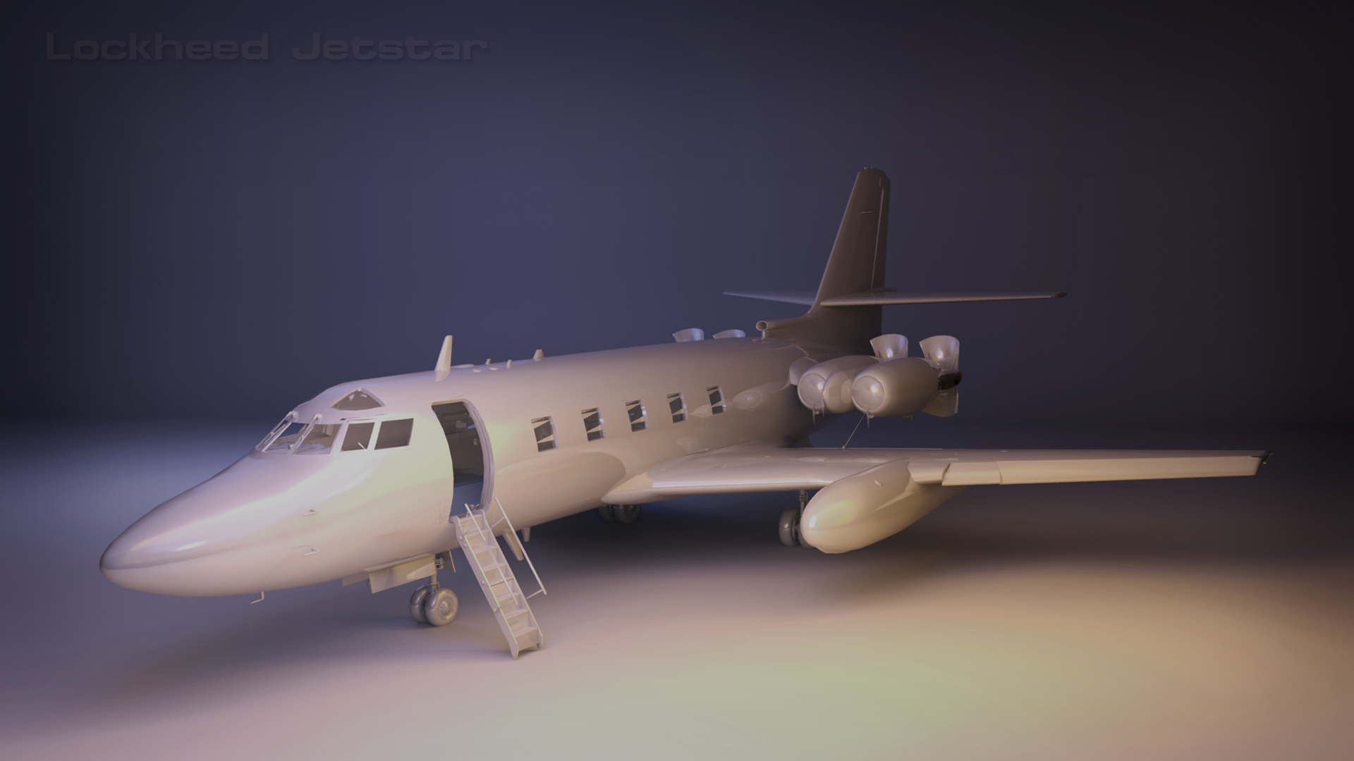 Lockheed Jetstar Project for FSX, P3D and P3D 64-bit