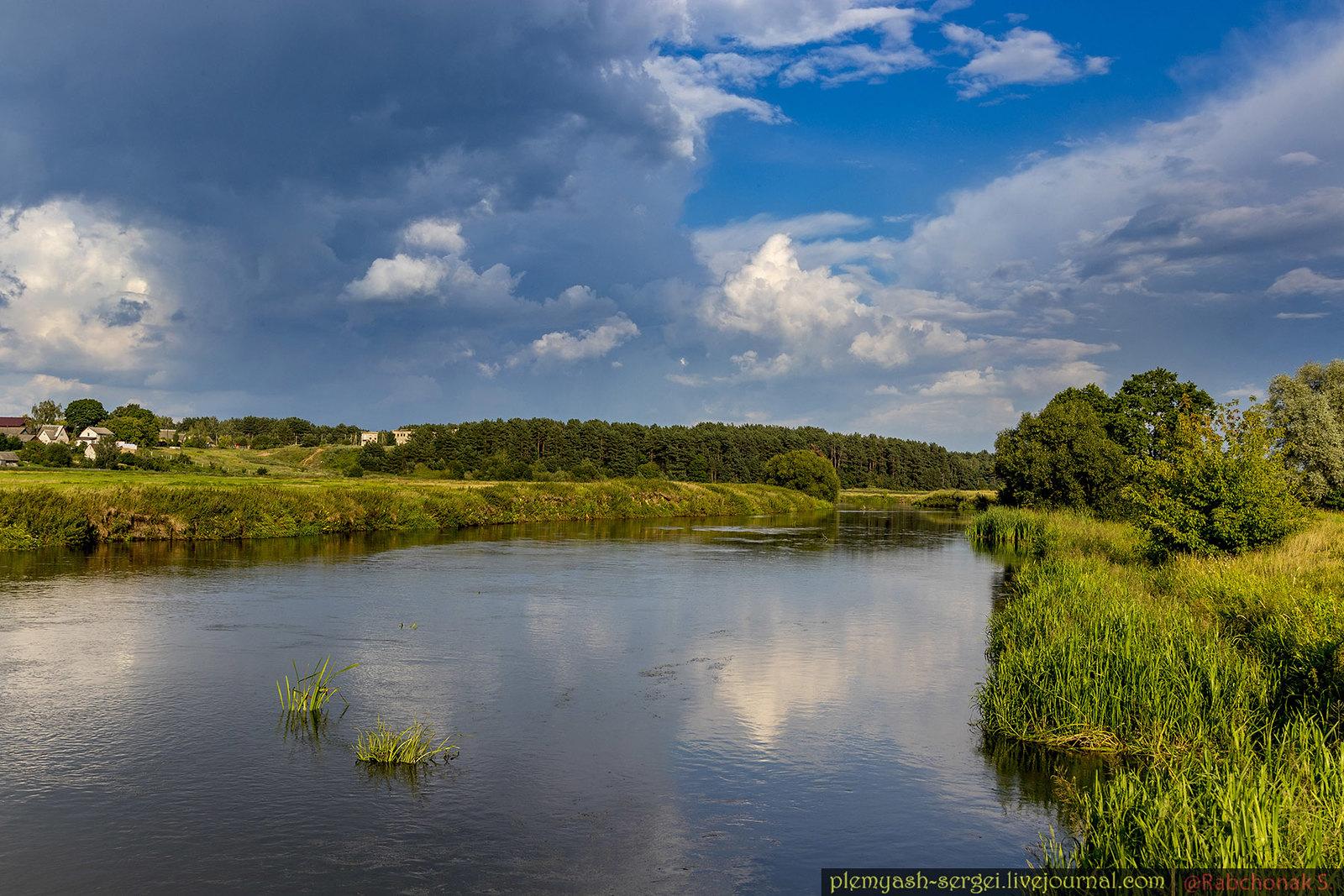The river in Belarus