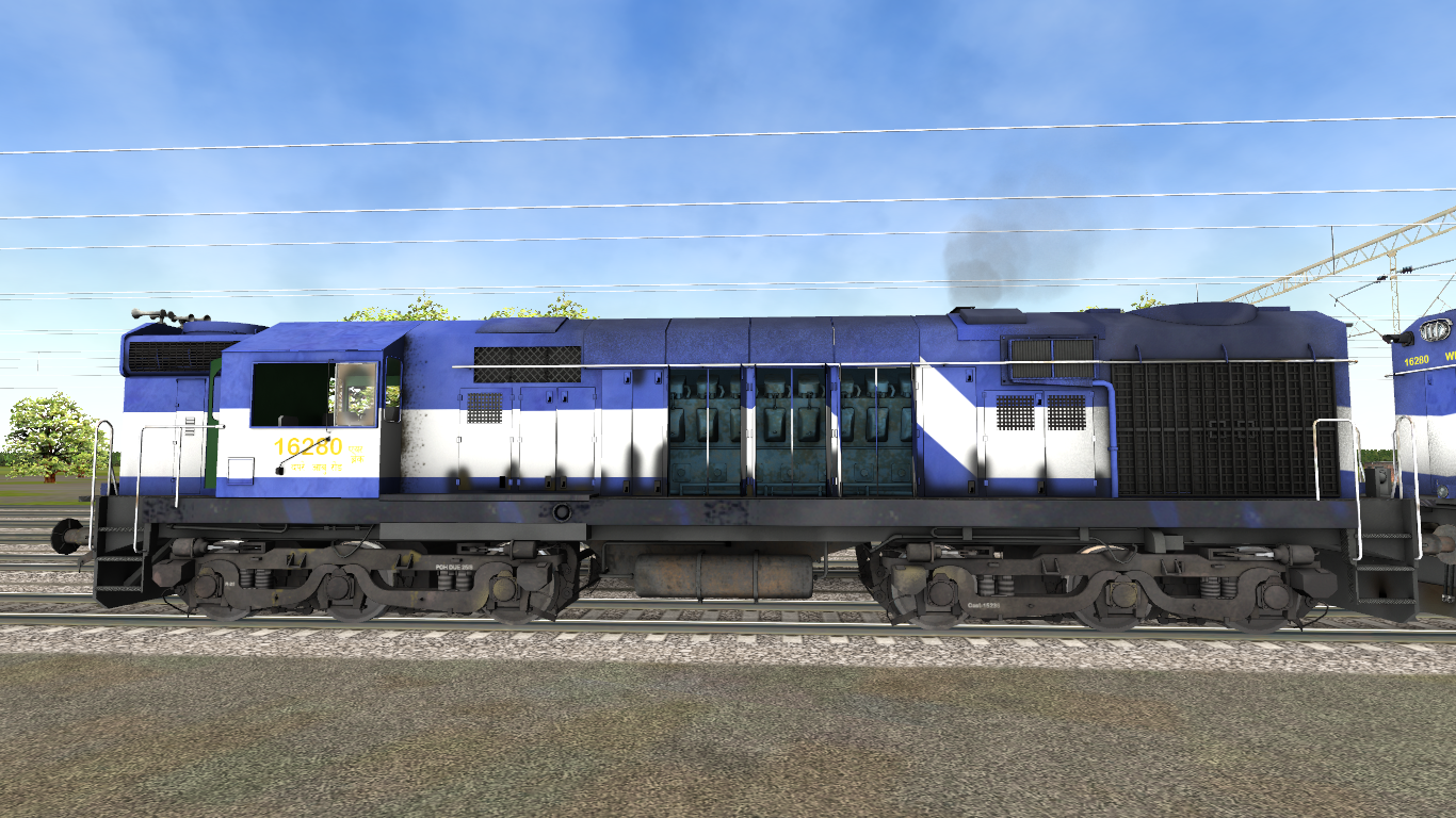 New Locomotive for Open Rails : WDM-3A Rebuilt