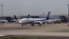 Mbak ANA di Bandara Narita