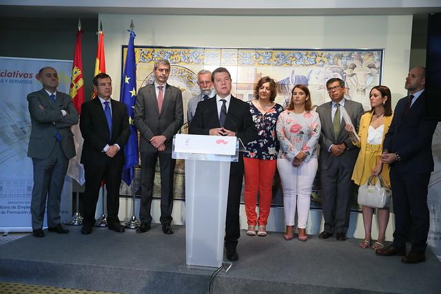 Inicio de las obras de remodelación de la Oficina 'Emplea' y del Centro Regional de Formación de la Cerámica y el Vidrio en Talavera de la Reina