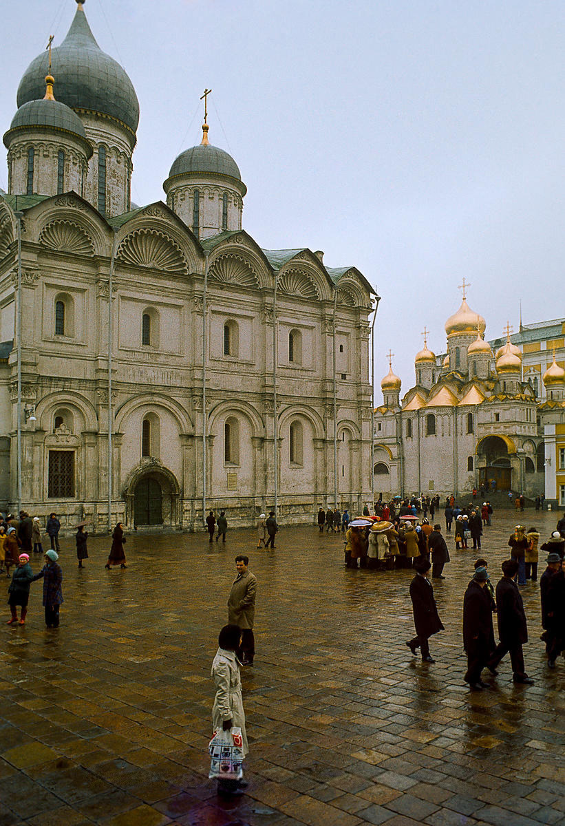 Архангельский и Благовещенский соборы
