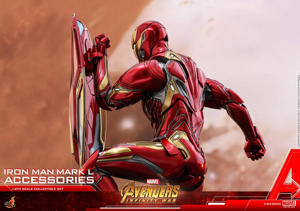 Hot Toys – ACS004 –《復仇者聯盟3:無限之戰》鋼鐵人馬克50 配件包 Iron Man Mark L Accessories