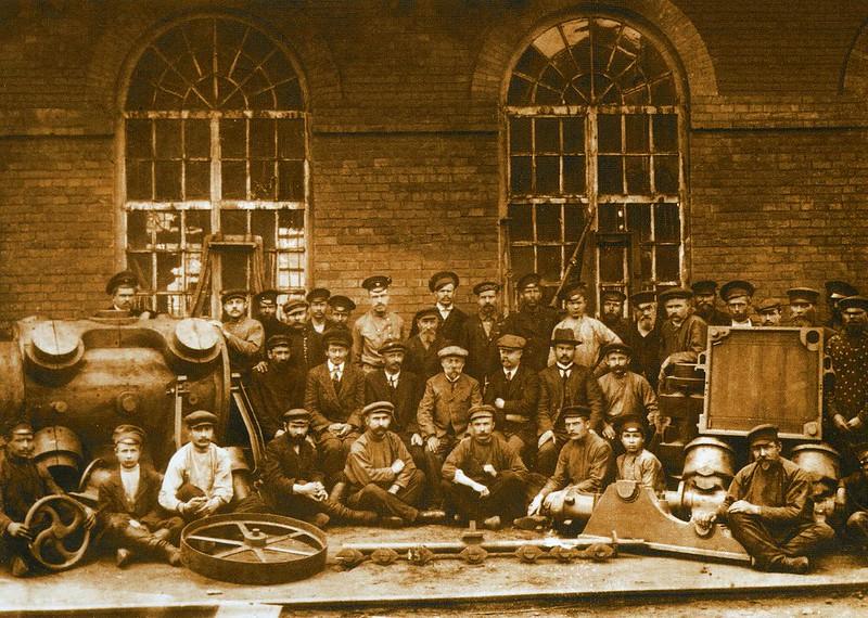 Машиностроительные мастерские цех 24 1914