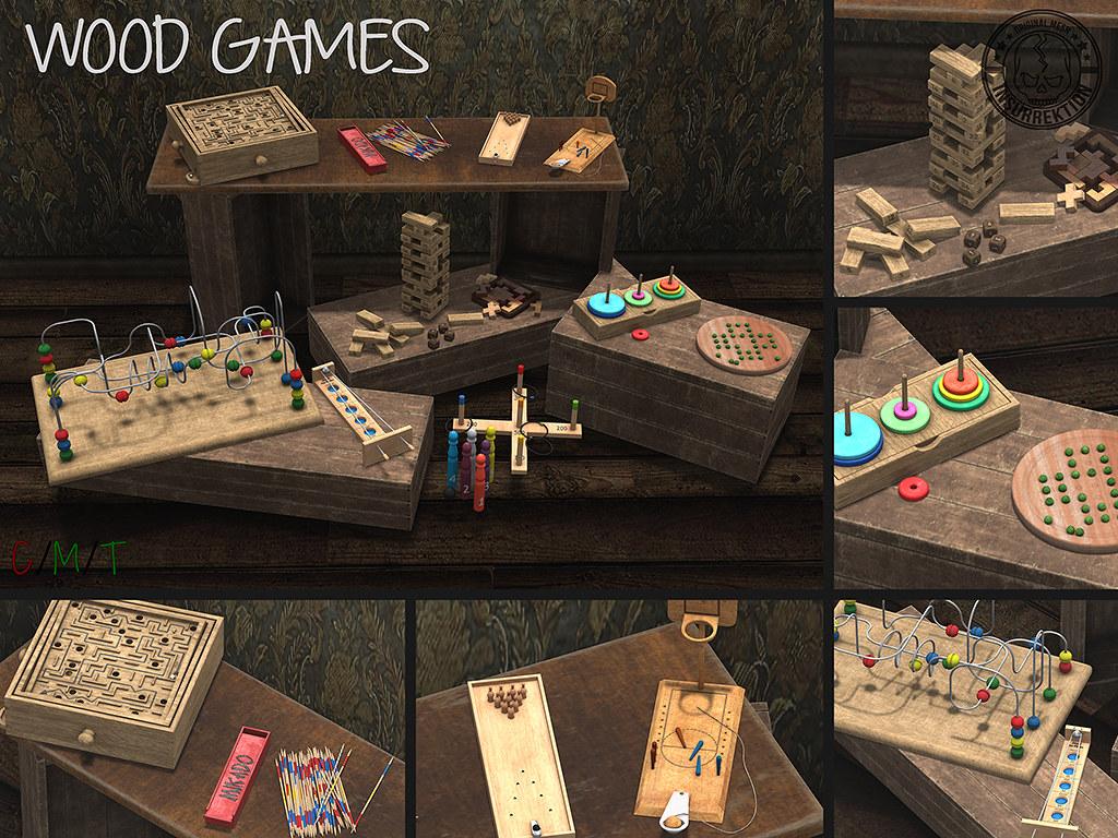 [IK] Wood Games Poster