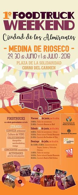 1º FOODTRUCK WEEKEND Ciudad de los Almirantes Rueda de Prensa