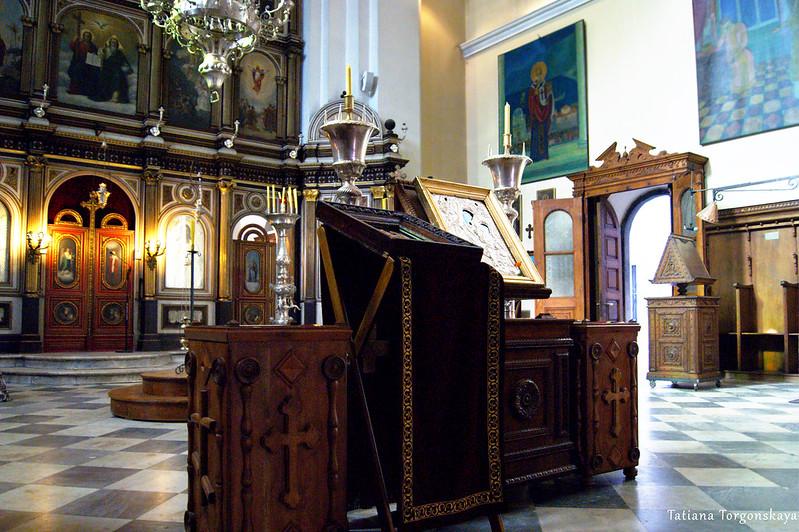 Интерьер церкви Св.Николая