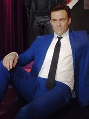 Robbie Williams Madame Tussauds Amsterdam July 2018