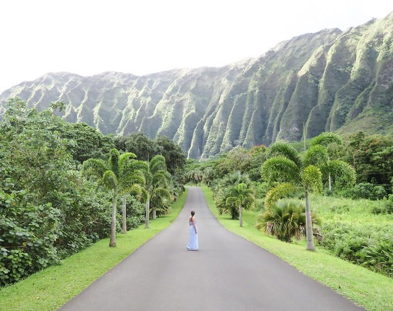 Hawaii Jardin botánico Hoomaluhia