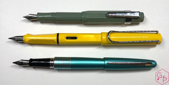 Kaweco x Milligram Skyline Sage Fountain Pen Review @Kaweco_Germany @MilligramStore 8