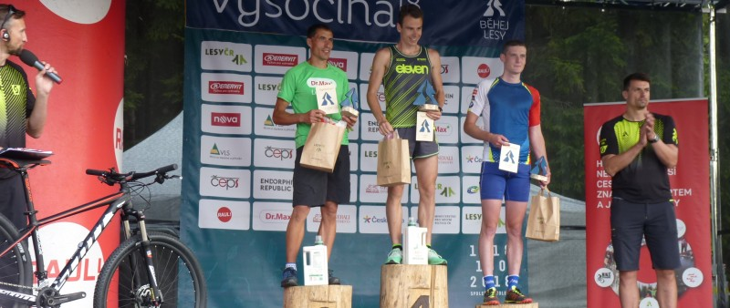 Jiří Šacl neměl při Běhej lesy Vysočina konkurenci