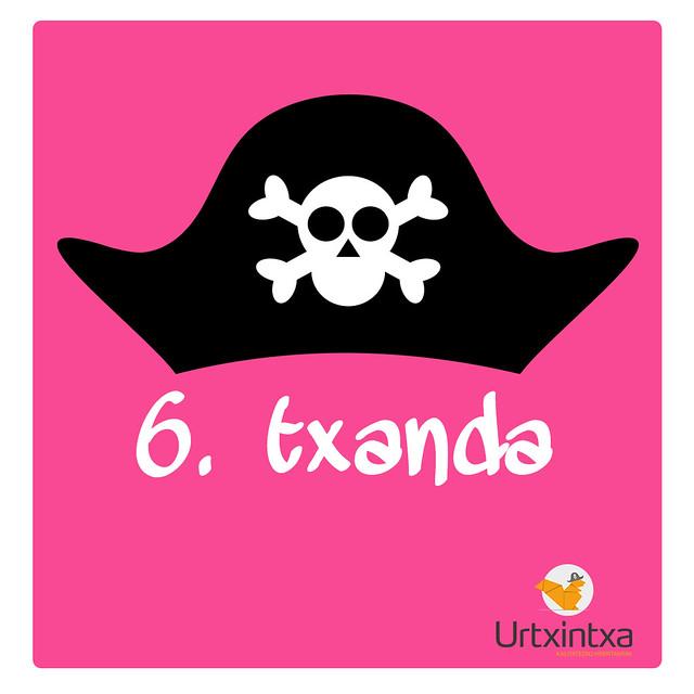 6.txanda Pirata udalekuak 2018