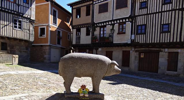 Estoy en La Alberca, Salamanca, España.