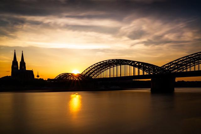 Dom Köln Sonnenuntergang