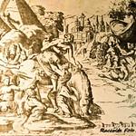 Maturino, Clelia fugge dal campo di Porsenna, Stampe del 1974 - https://www.flickr.com/people/35155107@N08/