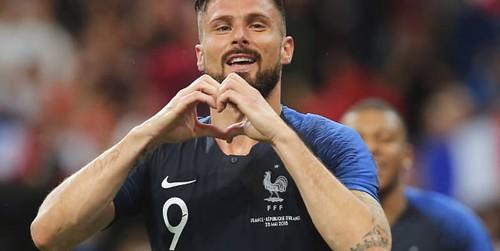 Giroud: Saya lebih suka Henry dengan kami