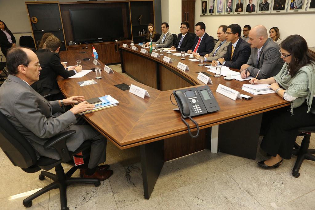 Ministro participa de reunião com o Embaixador do Grão-Ducado de Luxemburgo no Brasil. Brasília (11/07/2018). Fotos: Ricardo Fonseca.
