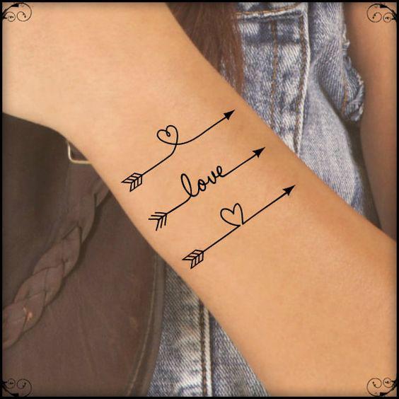 Tatuajes De Flechas Originales Y Minimalistas Mini Tatuajes