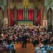 DSCN0058c Sinfonia da Requiem, Benjamin Britten. Ealing Symphony Orchestra, leader Peter Nall, conductor John Gibbons. St Barnabas Church, west London. 14th July 2018