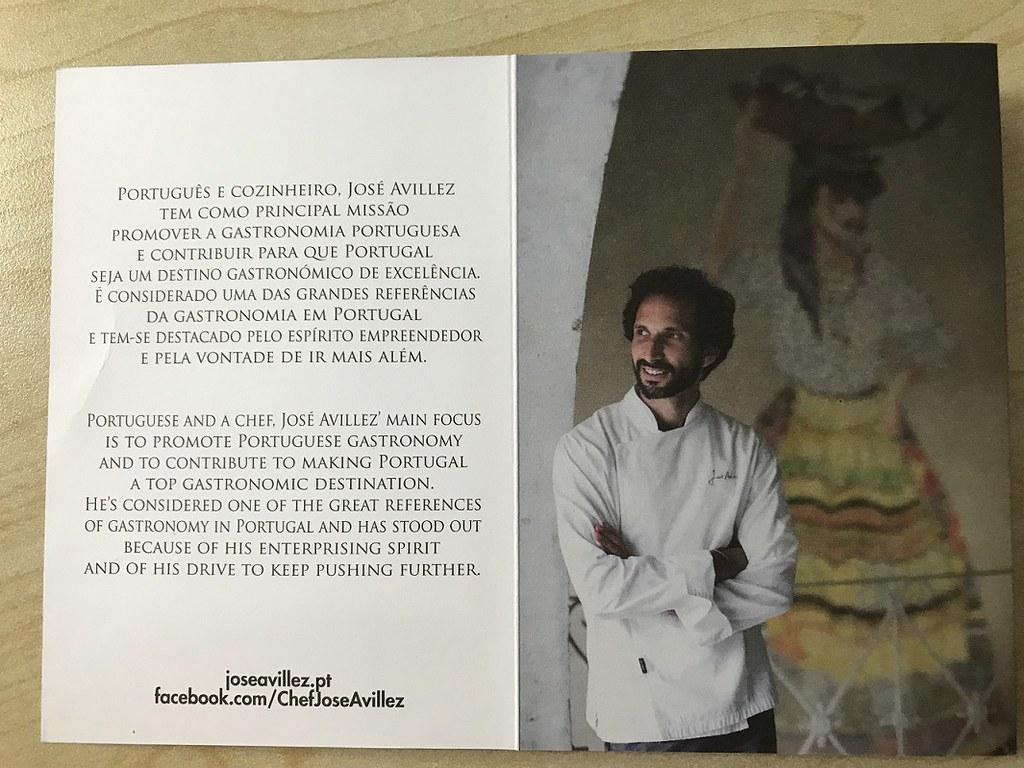 Cantinho chef / owner Avillez