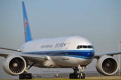 China Southern Cargo B-2042 Boeing 777-F1B cn/41633-1126 @ Taxiway Q E