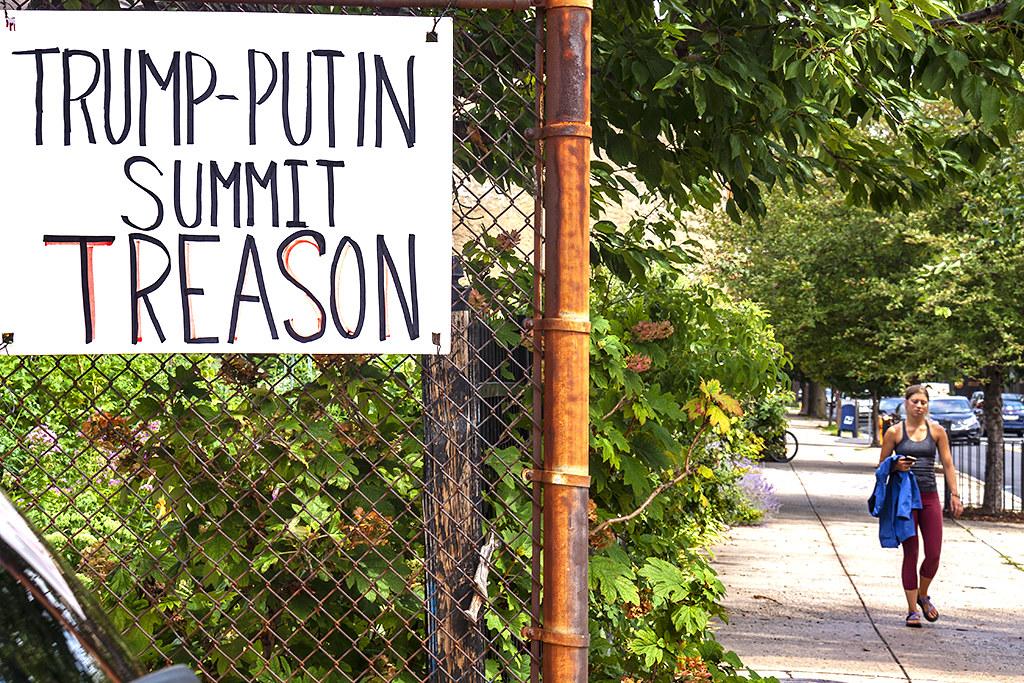 TRUMP-PUTIN SUMMIT TREASON--Queen Village