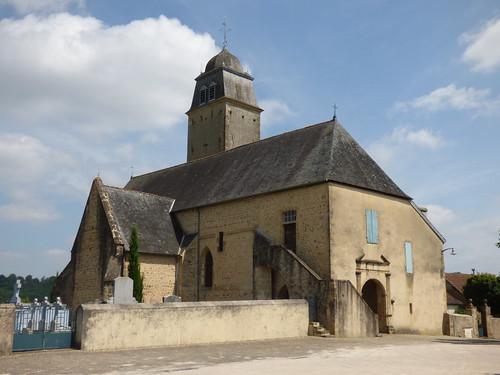 Eglise de l'Assomption-de la-Bienheureuse-Vierge-Marie...Taron-Sadirac-Viellenave