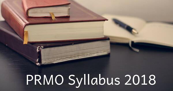 prmo syllabus