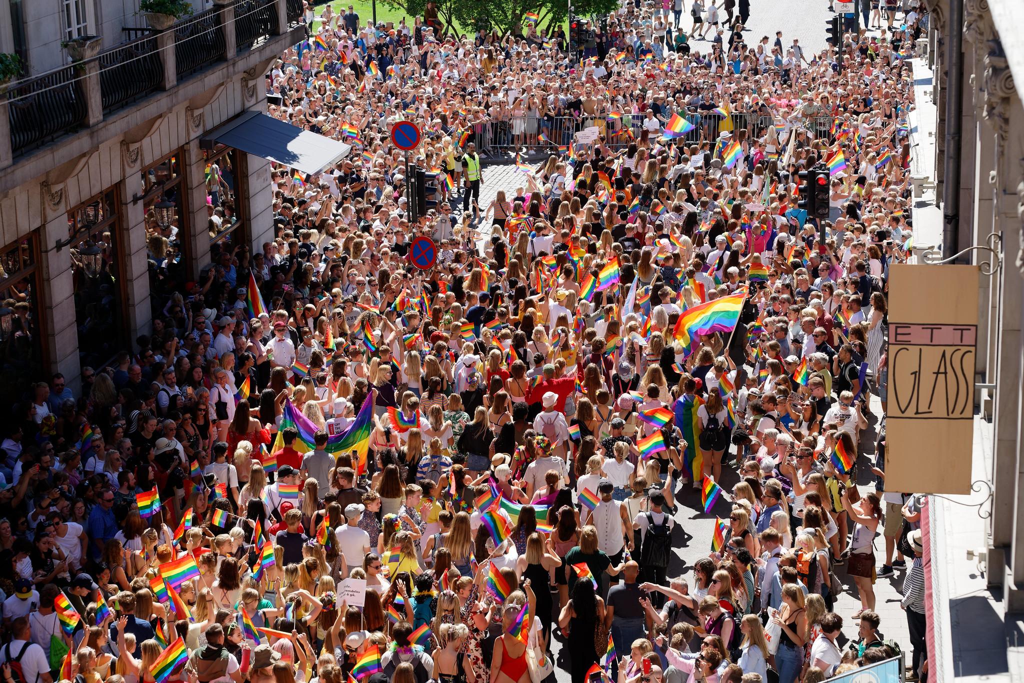 Oslo Pride Parade 2018