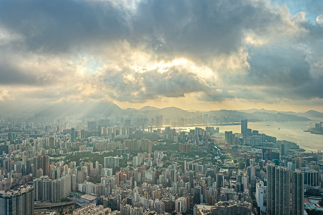 Morning at East Kowloon, Hong Kong