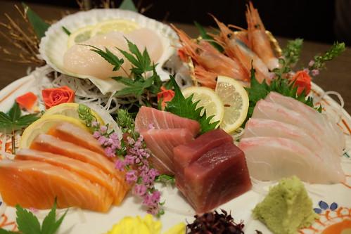 本日の鮮魚 五点盛り合わせ