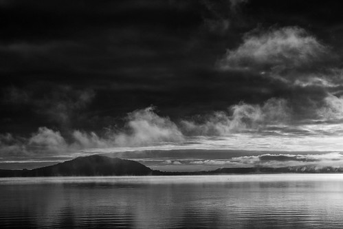 island blackandwhite bw blancoynegore rotorua newzealand nz sunrise nature 50mm 50mmlens fuji fujifilm fujifilmxt2 fujiphoto fujiphotography fujifoto travel vacation earlymorning morninglight