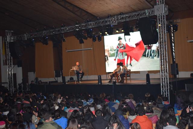 """""""POWER PERALTA"""" visitan el ISV"""