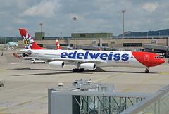 Edelweiss Air Airbus A340-313 HB-JME