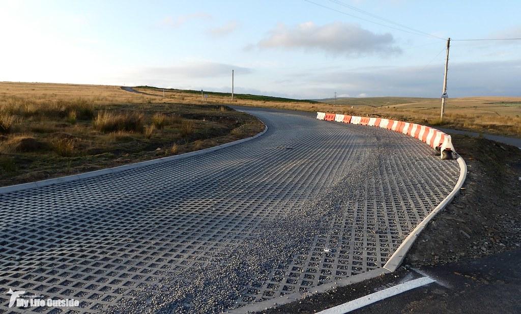 P1170619 - Route of the Mynydd y Gwair wind farm access track