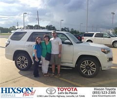 #HappyBirthday to Tammy from Cindy Crosby at Hixson Toyota of Leesville!