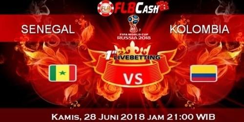 Prediksi Bola Piala Dunia – Senegal vs Kolombia, hari Kamis, 28 Juni 2018