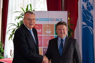 UNOV Director-General meets Mayor of Vienna