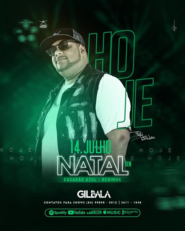 HOJE - 14 JULH - GILBALA
