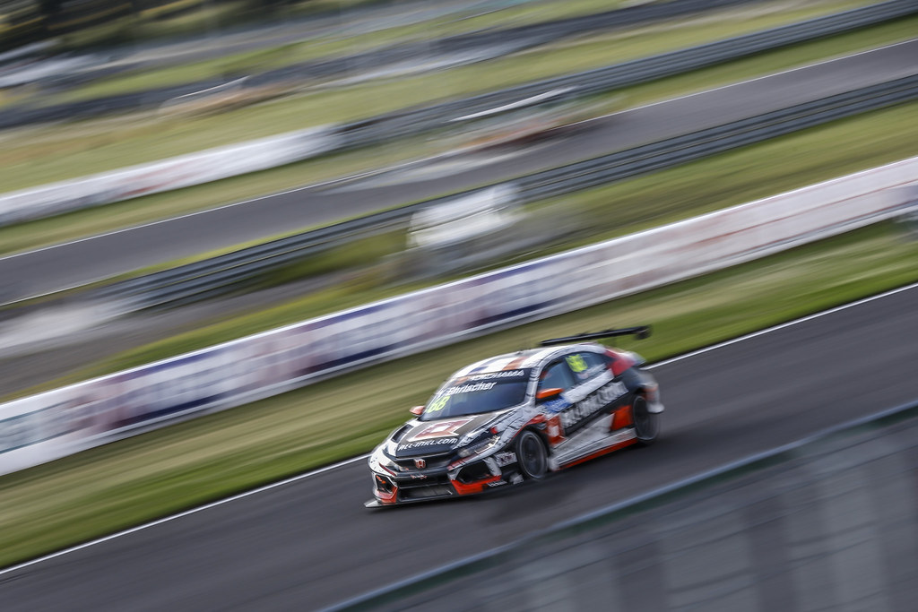 68 EHRLACHER Yann, (fra), Honda Civic TCR team ALL-INKL.COM Munnich Motorsport, action during the 2018 FIA WTCR World Touring Car cup race of Slovakia at Slovakia Ring, from july 13 to 15 - Photo Jean Michel Le Meur / DPPI