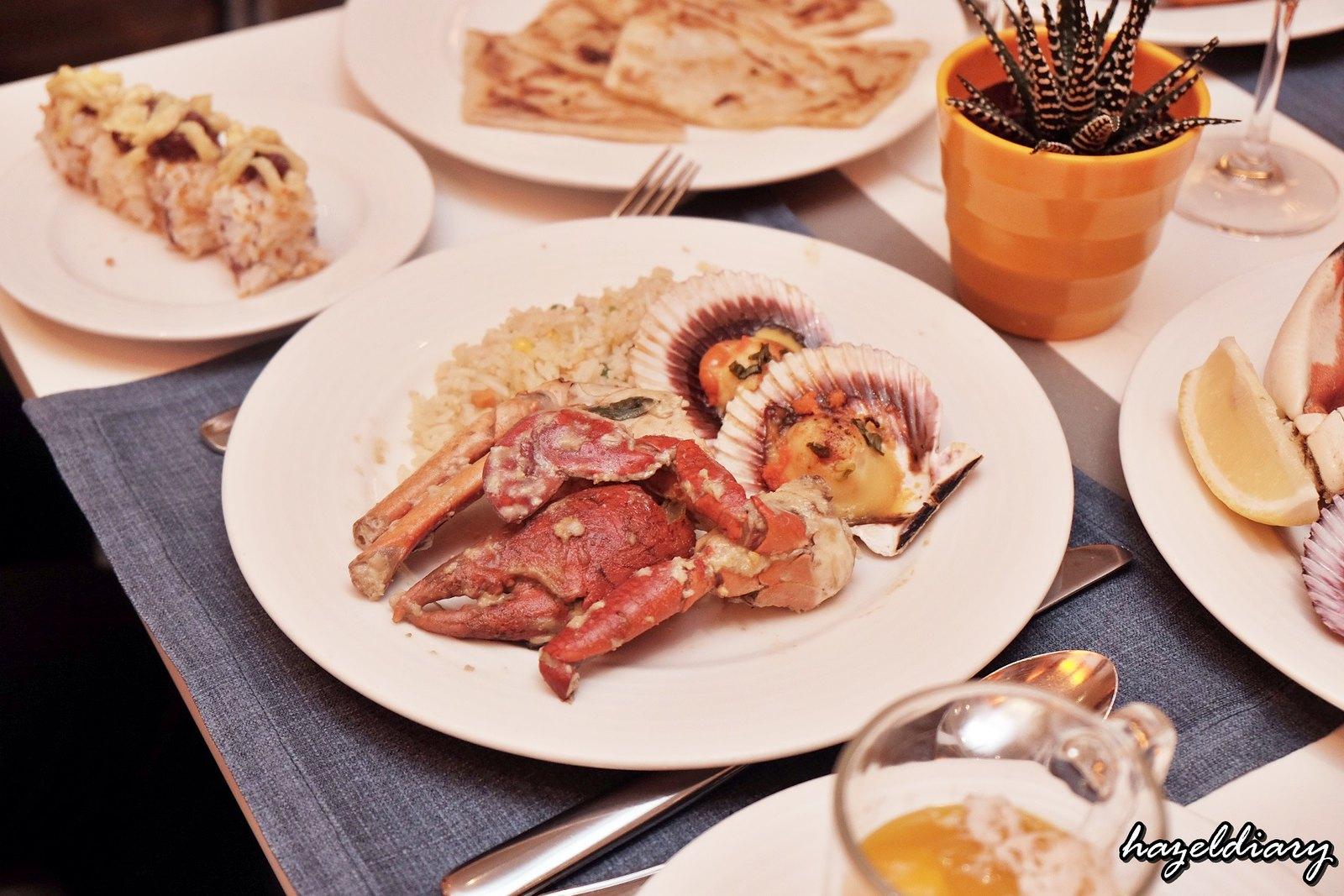 The Line Shangri-La Hotel-Durian buffet-Durian Crab-1