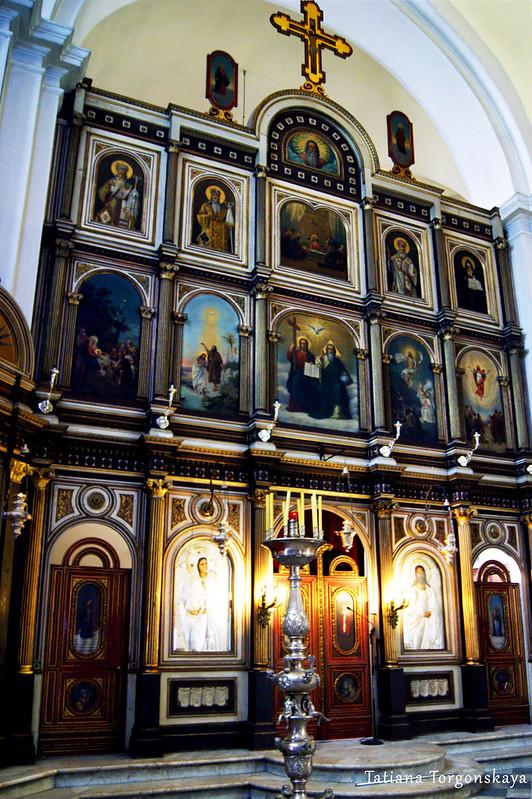 Иконостас церкви Св.Николая