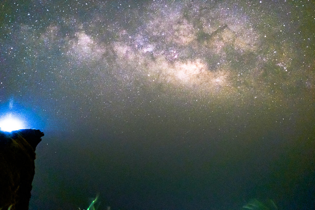 Milky Way at Puchi Fah. Chiang Rai, Thailand