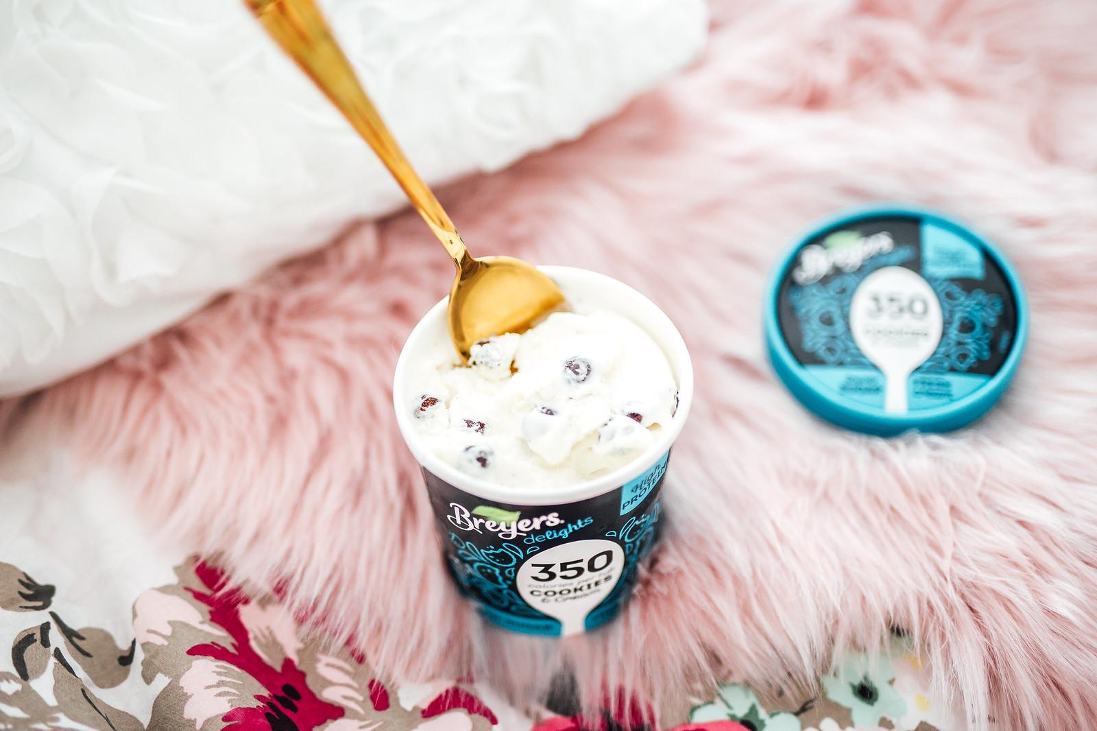 Breyers Delights cookie ice cream