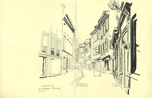 Rue des Charpentiers - Strasbourg