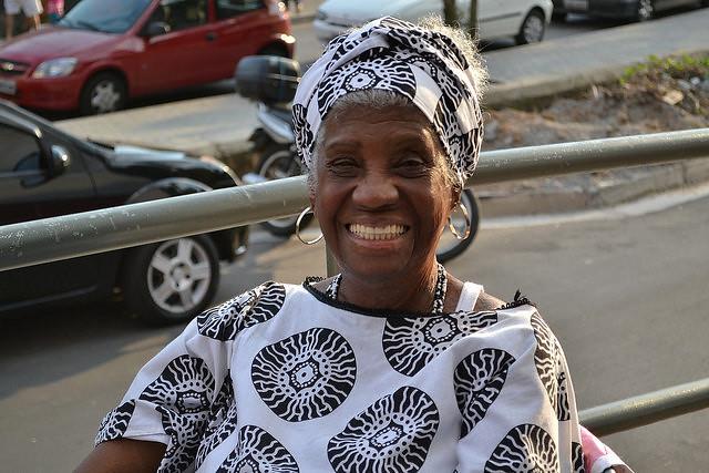 Rainha Kambinda, herdeira de Solano Trindade, faleceu no último dia 15 de abril - Créditos: Renata Vuolo